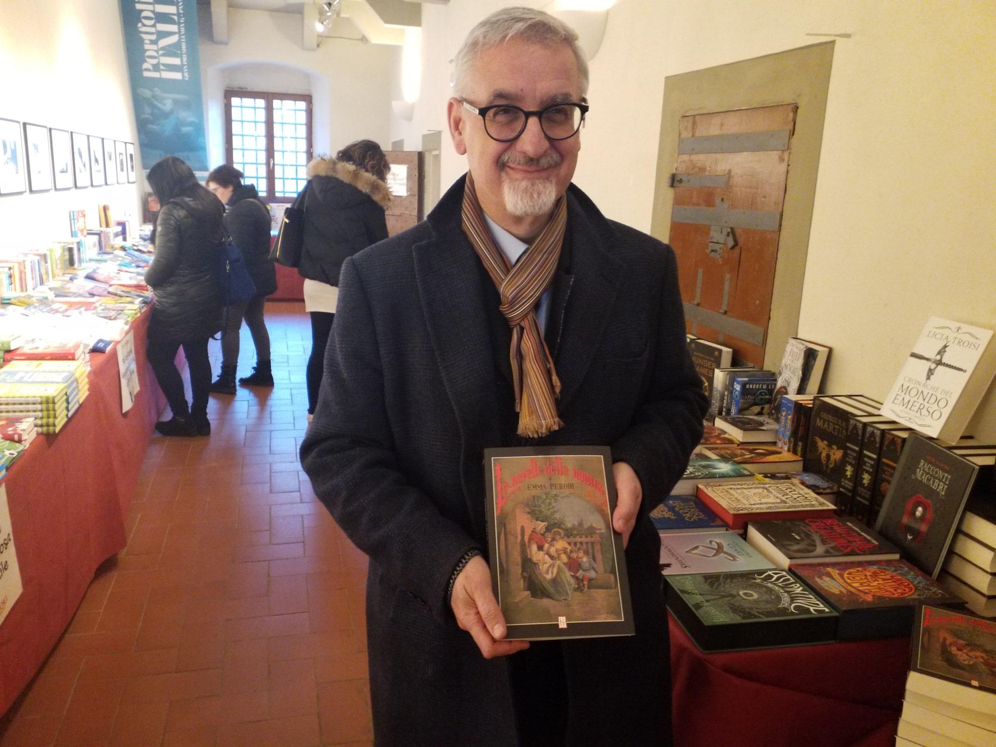 Luigi Ballerini alla Mostra del Libro per Ragazzi